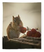 Fruit Of The Vine Fleece Blanket