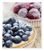 Fruit Tarts Fleece Blanket