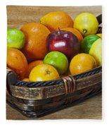 fruits with vitamin C Fleece Blanket