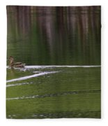 Full Speed Ahead Fleece Blanket