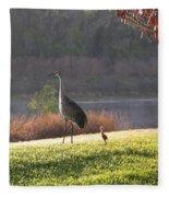 Future Lookout  Fleece Blanket