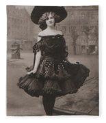 Gabrielle Ray Ca.1905 Fleece Blanket