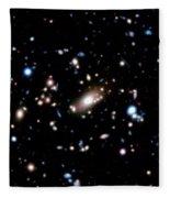 Galaxy Cluster Fleece Blanket