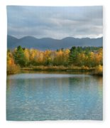 Gale River In Franconia New Hampshire Fleece Blanket