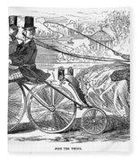 Gallant Admirers, 1869 Fleece Blanket