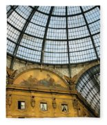 Galleria In Milan I Fleece Blanket