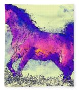 Galloping Grace Fleece Blanket