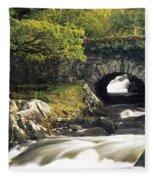Galways Bridge, Killarney National Fleece Blanket
