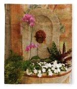 Garden Deco Fleece Blanket