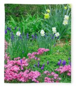 Garden Escape Fleece Blanket