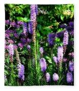 Garden Flowers 1 Fleece Blanket