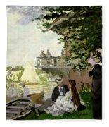 Garden House On The Zaan - Zaandam Fleece Blanket