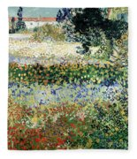 Garden In Bloom Fleece Blanket