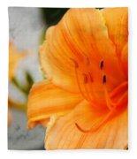 Garden Lily Fleece Blanket