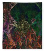Garden Of Color Fleece Blanket