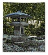 Garden Pagoda Fleece Blanket