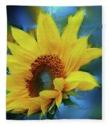 Garden Sun Fleece Blanket