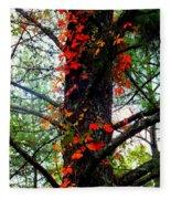 Garland Of Autumn Fleece Blanket