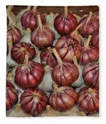 Garlic Fleece Blanket