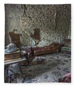 Garnet Ghost Town Hotel Parlor - Montana Fleece Blanket