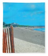 Gate To Paradise Fleece Blanket