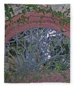 Gate To The Courtyard Fleece Blanket
