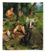 Gaul: Nearing The End Fleece Blanket