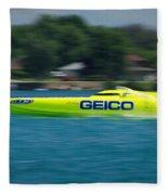 Geico Offshore Racer Fleece Blanket