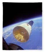 Gemini 6 Views Gemini 7 Fleece Blanket
