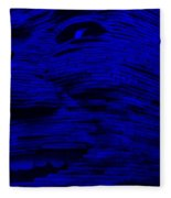 Gentle Giant In Blue Fleece Blanket