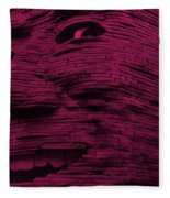 Gentle Giant In Hot Pink Fleece Blanket