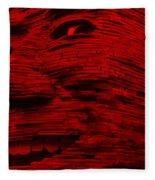 Gentle Giant In Red Fleece Blanket