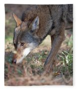 Gentle Wolf Fleece Blanket