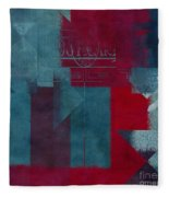 Geomix 03 - S330d05t2b2 Fleece Blanket