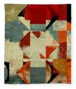 Geomix 04 - 39c3at227a Fleece Blanket