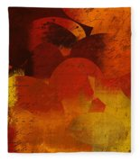 Geomix 05 - 02at02b Fleece Blanket