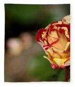 George Burns Rose Fleece Blanket