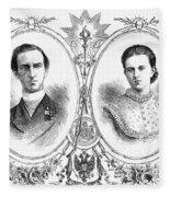 George I (1845-1913) Fleece Blanket