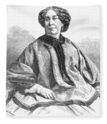 George Sand, French Author And Feminist Fleece Blanket