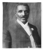 George W. Carver, African-american Fleece Blanket