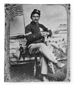 George W. Whitman Fleece Blanket