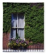Georgian Doors, Fitzwilliam Square Fleece Blanket