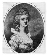Georgiana Shipley (1752-1806) Fleece Blanket