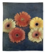 Gerberas Fleece Blanket