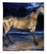 Gericault: Horse Fleece Blanket