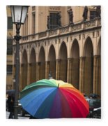 German Umbrella Fleece Blanket