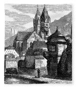 Germany: W�rzburg Fleece Blanket
