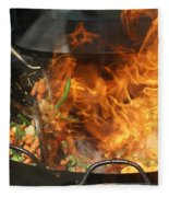 Getting Stir Fried Fleece Blanket