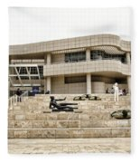 Getty Entrance Fleece Blanket