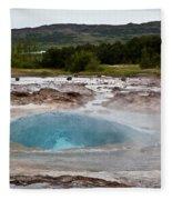 Geysir Eruption Sequence Fleece Blanket